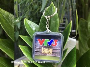 Móc Khóa Keo Dẻo VTV3